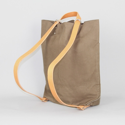 Tembea School Bag in Khaki OEN Shop