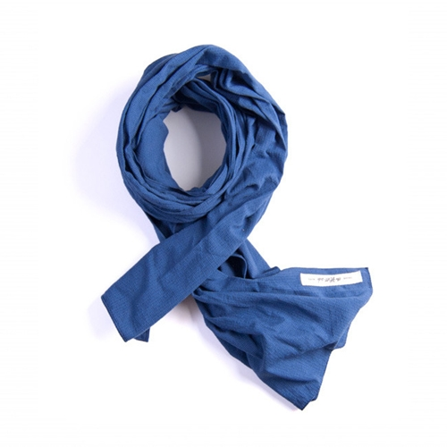 MILKMADE The Hill side Shijira Dobby Solid Scarf