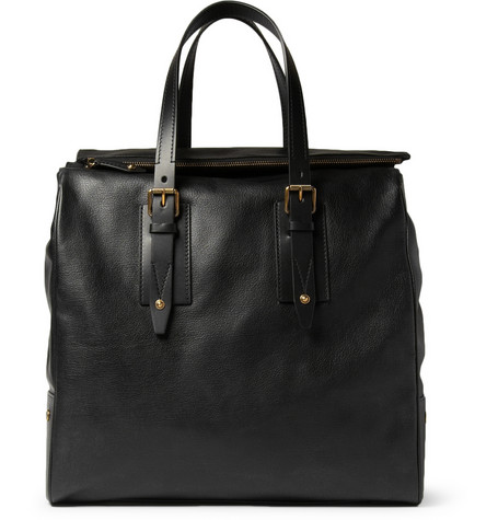 Belstaff Dorchester Leather Tote Bag Mr Porter