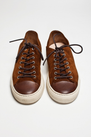 Buttero Tanino Low Suede Brown TRES BIEN