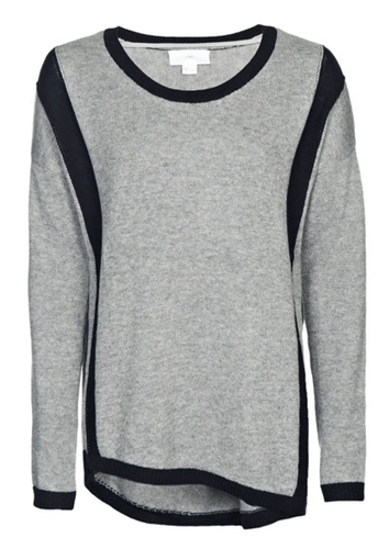 Charli Memphis Colour Block Jumper Cloud