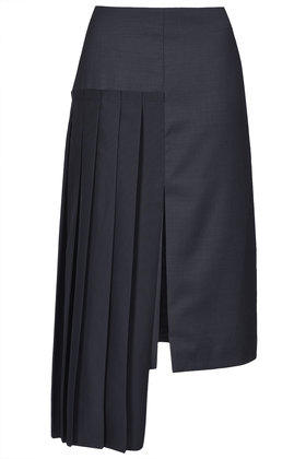Hybrid Pleat Pencil Skirt By Boutique New In This Week New In Topshop Europe