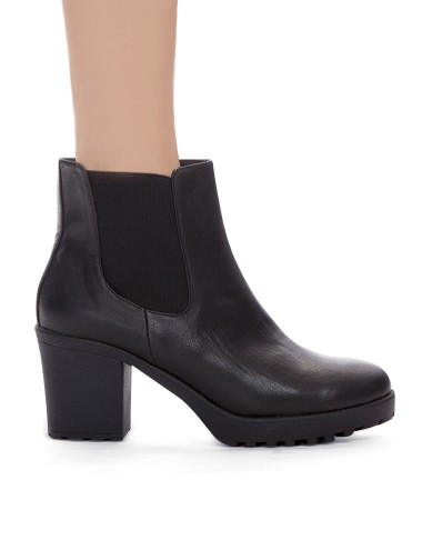 Black Platform Chunky Boots Cheap Lug Sole Boots 76
