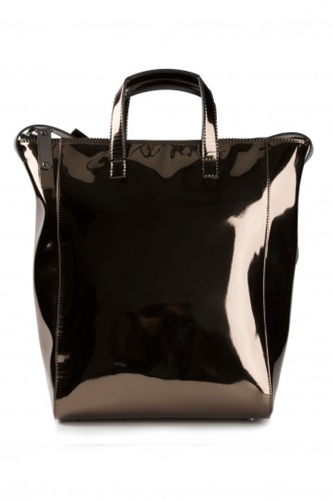 Maison Martin Margiela Metallic Leather Tote
