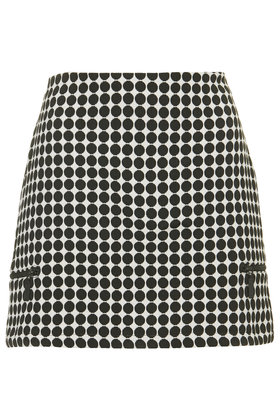 Tall Monochrome Spot Skirt New In This Week New In Topshop Europe