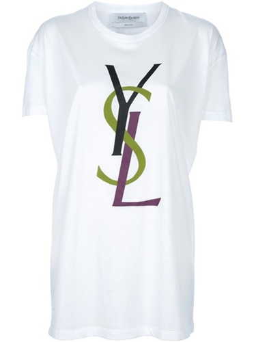 Yves Saint Laurent Logo T Shirt Liska farfetch com