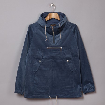 Beams Plus Shirt Cord Anorak Sax Oi Polloi