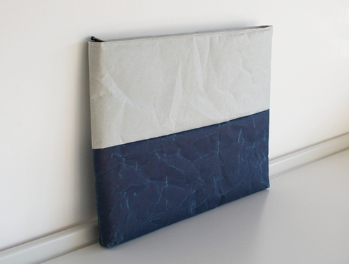 Grey Blue Ipad Case By Siwa Oen Shop