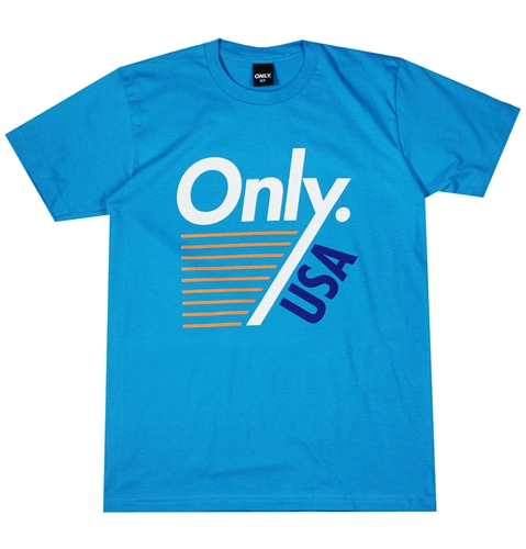 Only Ny Trainer T Shirt In Teal Huh. Store