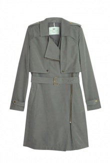 Go Zip Trench Coat By Day Birger Et Mikkelsen