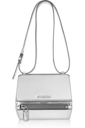 Givenchy Small Pandora Box Bag In Mirrored Leather Net A Porter.Com