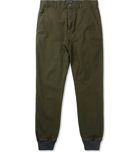 Zanerobe Military Green Dynamo Chino Pants Hypebeast Store. Shop Online For Men's Fashion Streetwear Sneakers Accessories