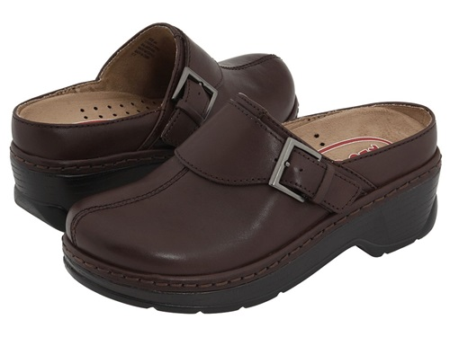 Klogs Usa Austin Coffee Smooth Women's Clog Shoes Brown