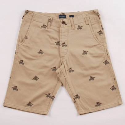 Paul Smith Cyclist Embroidered Short