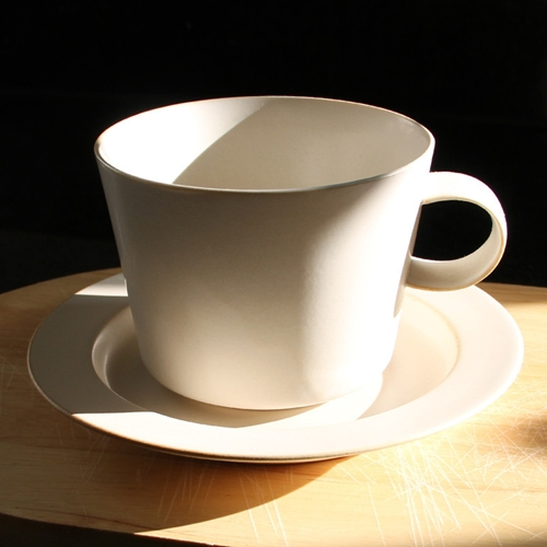 Cup And Gouter Unjour Matin In Ivory Oen Shop