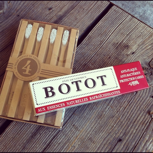 BOTOT Toothpaste GUEST Toothbrush Set Izola