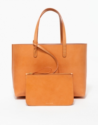 Small Tote In Camello Antico