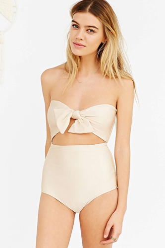 Lolli Tada One Piece Swimsuit Urban Outfitters