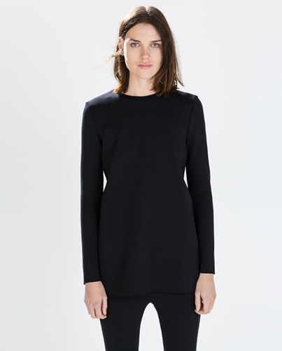 Studio Knit Tunic Woman New This Week Zara United Kingdom