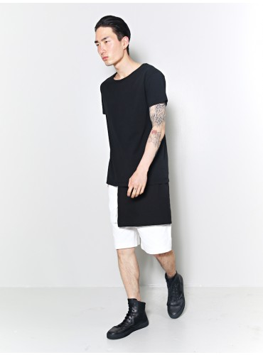 Layered Tee Black