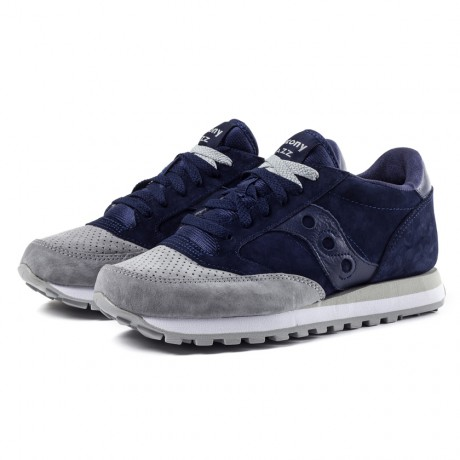 Saucony Navy Grey Jazz O Premium Sneakers