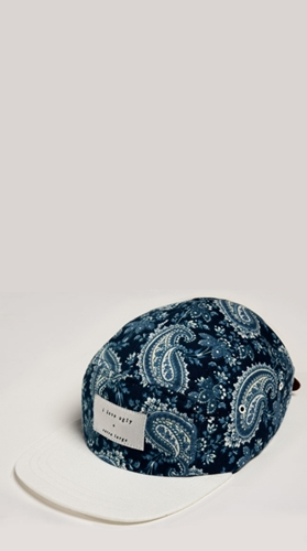 Royal Paisley Cap Limited Edition I Love Ugly