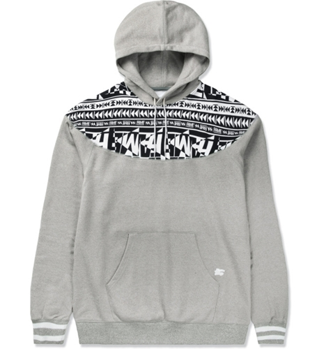 Hall Of Fame Heather Grey Raider Hoodie Hypebeast Store. Shop Online For Men's Fashion Streetwear Sneakers Accessories