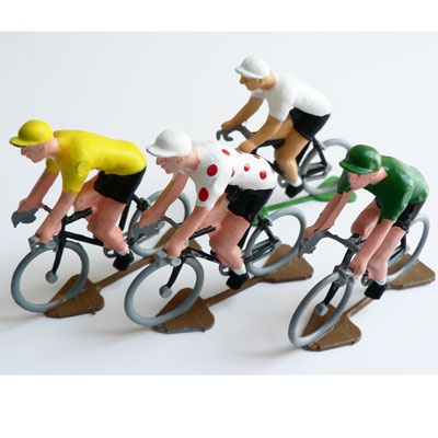 Race Edition Set of Hand Painted Cycling Figures at Urban Hunter UK