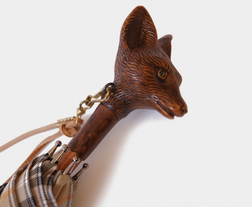 Fox Animal Head Umbrella