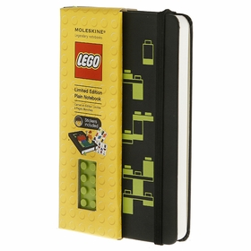 Moleskine LEGO Pocket Plain Notebook 3 5 x 5 5 MoleskineUS