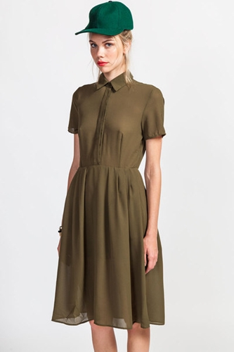 Olive Midi Dress Koshka Fashion. Trends. Boutique.