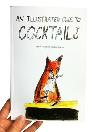 An Illustrated Guide To Cocktails By Elizabethgraeber On Etsy