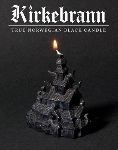 Higren Kirkebrann True Norwegian Black Candle