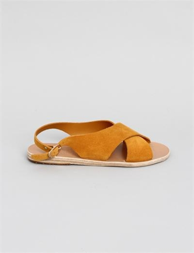 Ancient Greek Sandals Maria Saffron Crosta