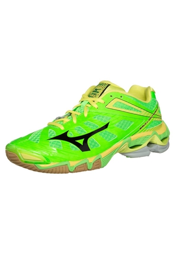 mizuno wave lightning rx3 volleyball shoes neon lime nuji