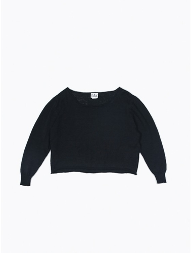 Oak Cropped Crew Sweater Oak