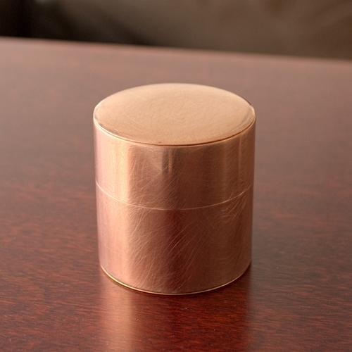Small Round Copper Can Oen Shop