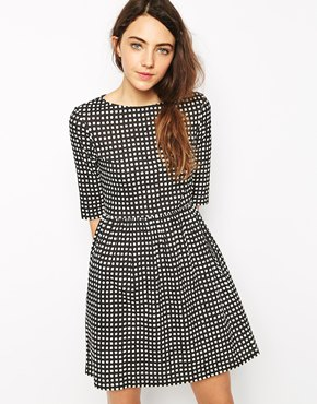 People Tree People Tree Organic Cotton Smock Dress In Check Print At Asos