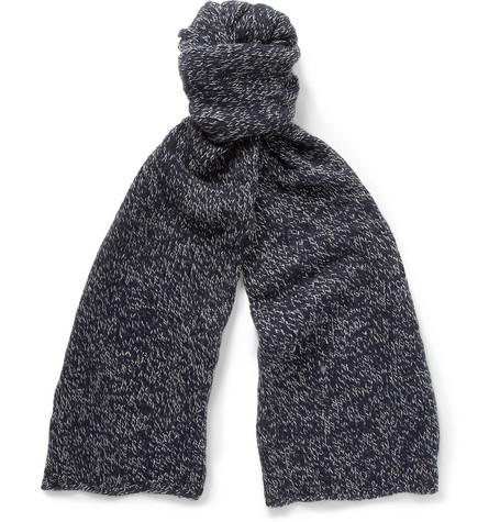 Dolce Gabbana Cashmere And Wool Blend Scarf Mr Porter