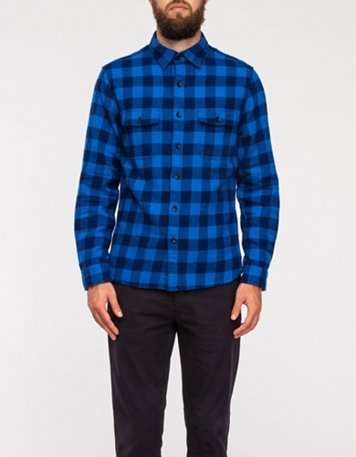 Brushed Flannel Chore Shirt