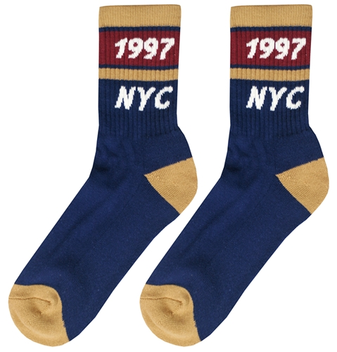 Only Ny Track Socks In Navy Huh. Store