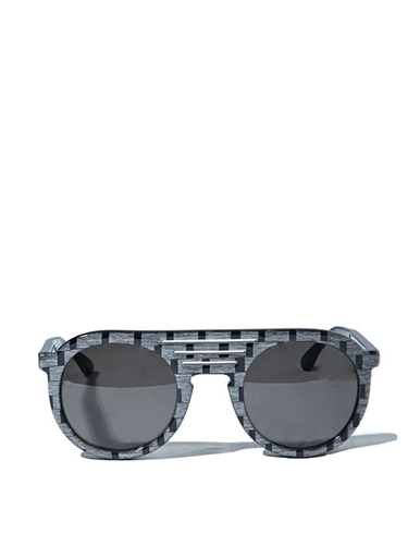 Thierry Lasry Mens Rounded Glossy 101 Sunglasses Ln Cc