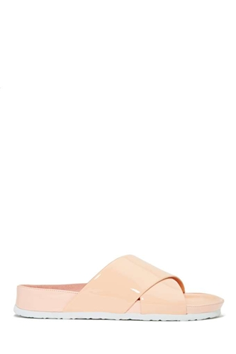 Jeffrey Campbell Menorca Sandal Blush Shop Flats At Nasty Gal