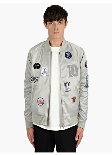Men's 10Th Anniversary Reversible Bomber Jacket