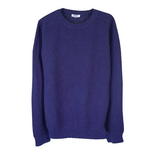 Long sleeve sweater by A P C Madras chez FrenchTrotters
