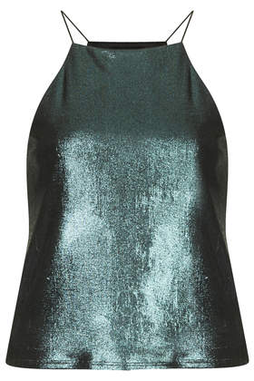 Liquid Metallic Cami Tops Clothing Topshop