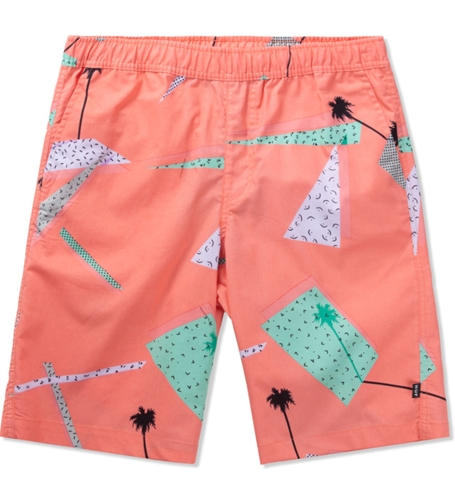 Huf Peach 1986 Easy Shorts Hypebeast Store. Shop Online For Men's Fashion Streetwear Sneakers Accessories