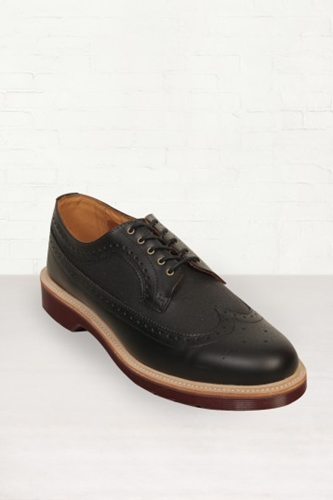 Buy Mens Dr. Martens Alfred Black Polished Shoes Start London