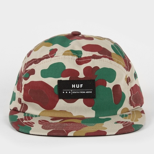 HUF Death From Above 6 Panel Volley Cap Camo