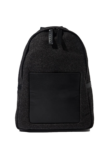 Marni Mens Felt And Leather Backpack